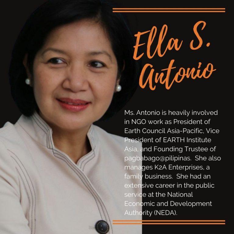 Ellamelides S. Antonio - President