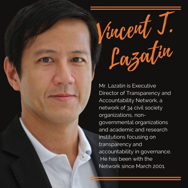 Vincent T. Lazatin - Treasurer