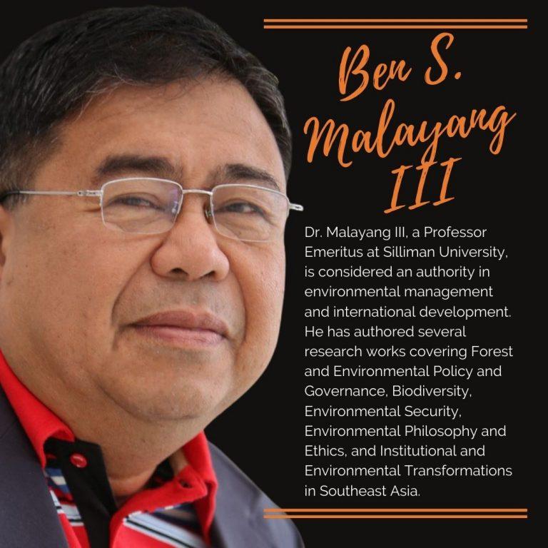 Ben S. Malayang III, Ph.D. - Director